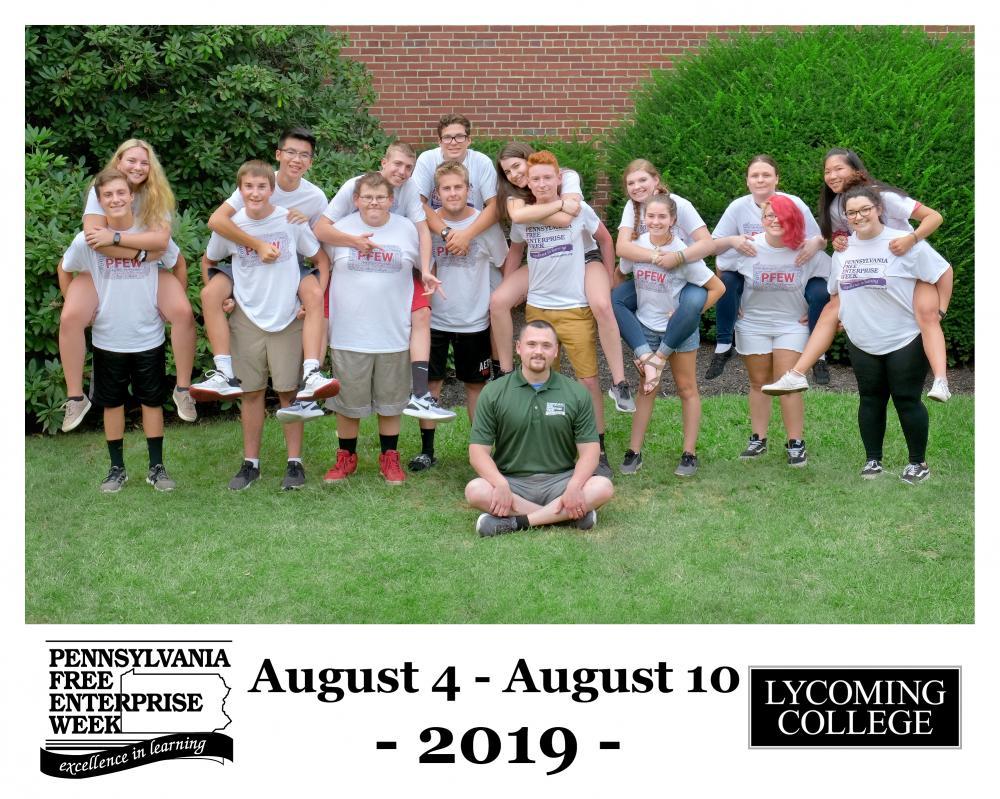 Week IV at Lycoming College Advertising Presentation - Full Circle