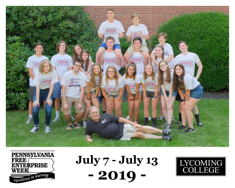 Week I at Lycoming College Stockholders' Presentation - Lazy Lawn Care